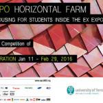 MILAN EXPO HORIZONTAL FARM