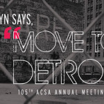 """Move to Detroit"" Call for Projects"
