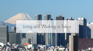 living and working in Tokyo