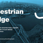 Pedestrian and Cyclist Bridge Over the Vistula River
