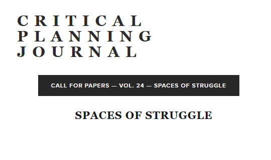 spaces of struggle