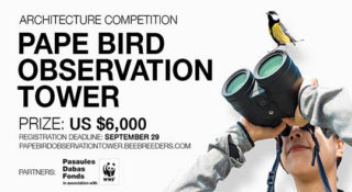 pape bird observation tower architecture competition