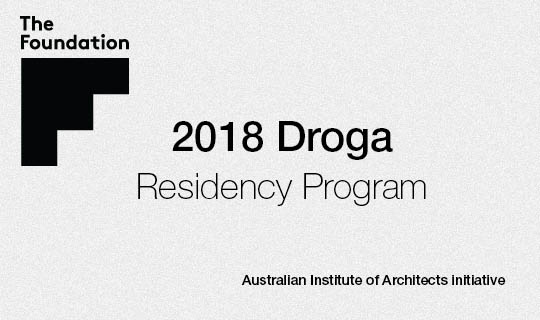 2018 Droga Residency Program