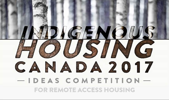 indigenous housing competition