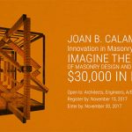 Joan B. Calambokidis Innovation in Masonry Design Competition