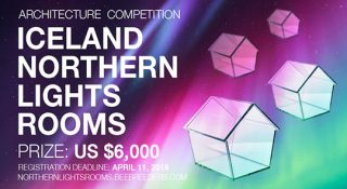 iceland northern lights rooms architecture competition