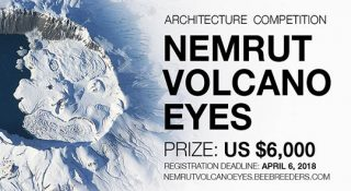 nemrut volcano eyes architecture competition