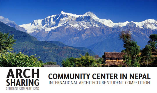 community center in nepal architecture contest