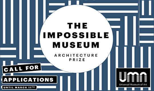 ARCHITECTURE PRIZE - universal museum of art