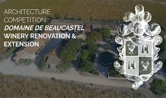 architecture competition winery renovation & extension