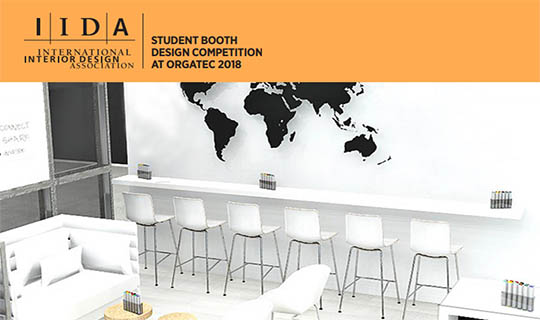 Iida Student Booth Design Competition At Orgatec 2018 Competitions Archi