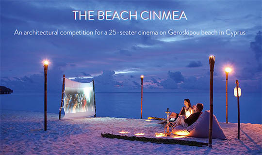 beach cinema design competitions