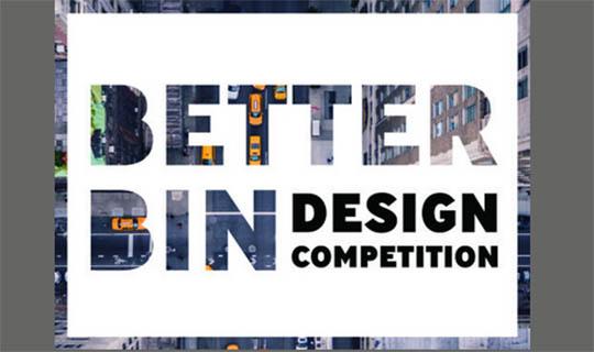 better bin design competition