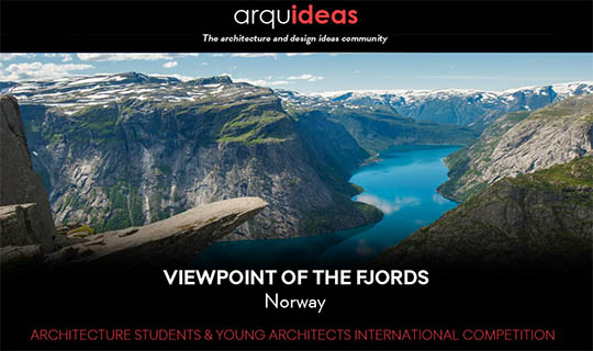 viewpoint of the fiords