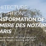 Call for Entries: Renovation of the Chambre des notaires de Paris