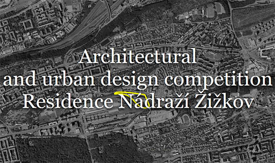 urban design competition nadrazi zizkov