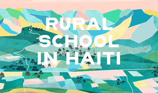 rural school in haiti