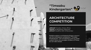 architecture competition kindergarten