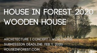 house in forest 2020, architecture competition, design competition, architecture students