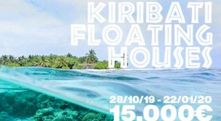 kiribati floarting houses