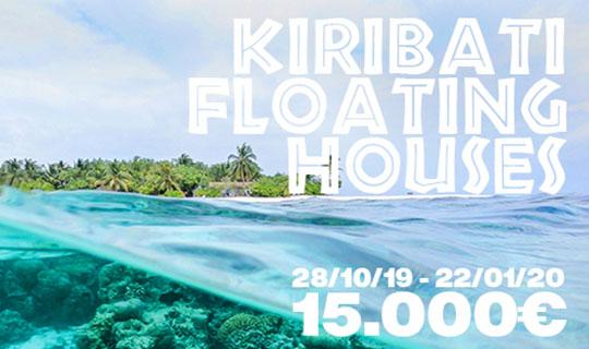 kiribati floarting houses