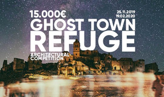 ghost town refuge architecture competition