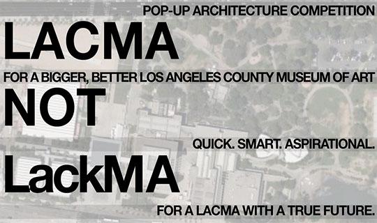 lacma architecture competition