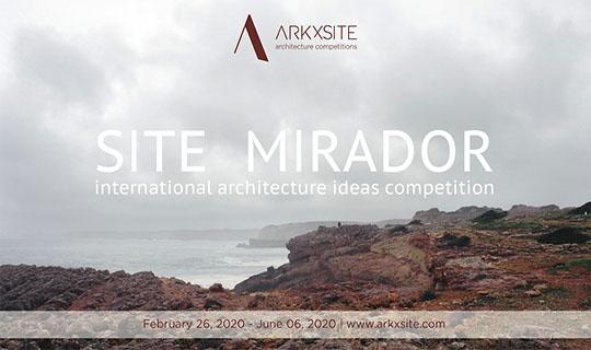 site mirador architecture competition