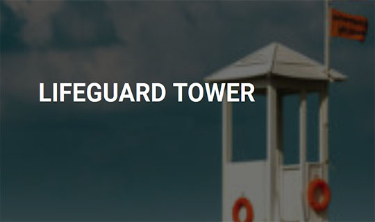 lifeguard tower project
