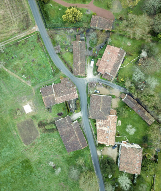 Aerial View of Repere Village