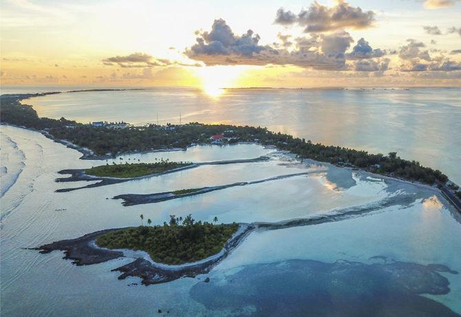 Tarawa Atoll, village view, credits YAC srl