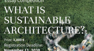 sustainable architecture essay competition