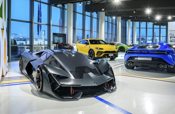 Lamborghini Museum Interiors, credits Automobili Lamborghini S.p.A.