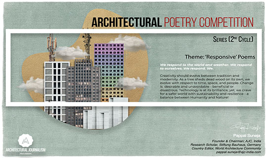 architectural poetry competiiton