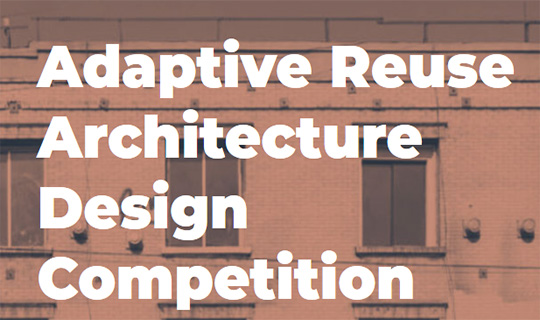adaptive reuse design competition