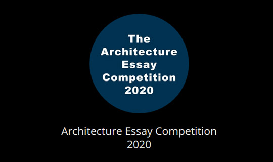essay architecture competition 2020