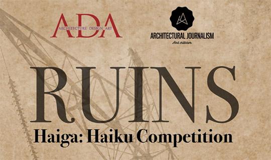 ruins haiku competition