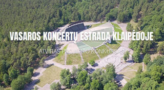 vasaros koncertu estrada klaipedoje architecture competition