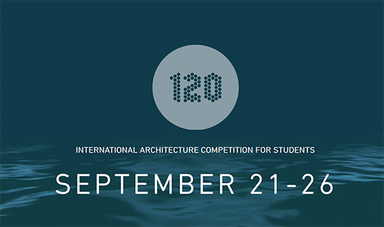 120 international architecture competition
