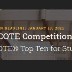 2020-2021 AIA COTE Top Ten for Students Design Competition