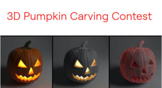 3D Pumpking Carving Contest