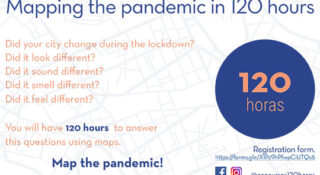 Mapping the pandemic in 120 hours Poster
