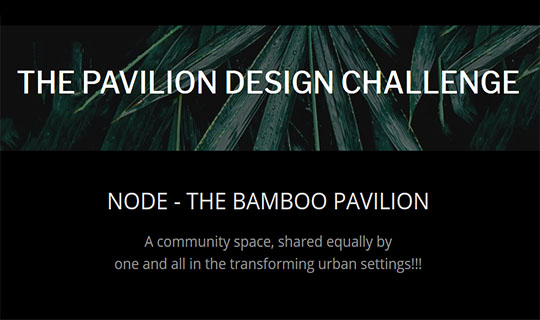 the pavilion design challenge