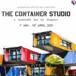 THE CONTAINER STUDIO- A sustainable den for designers