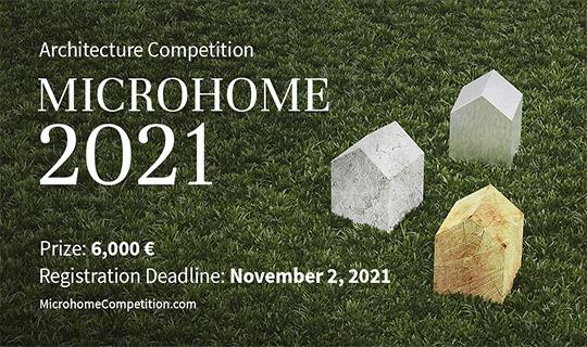microhome architecture competition 2021