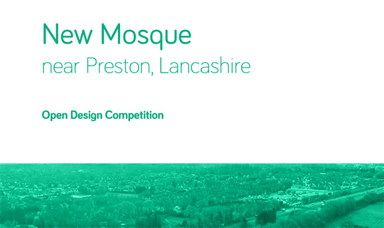 new mosque project competition