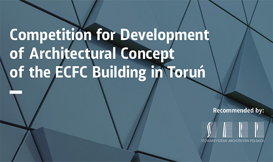 architectural concept for development of Architecture Concept of the ECFC Building