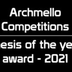 Archmello – Thesis Of The Year Award