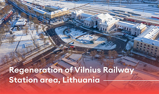 regeneration of vilnius railway