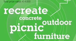 concrete picnic furniture